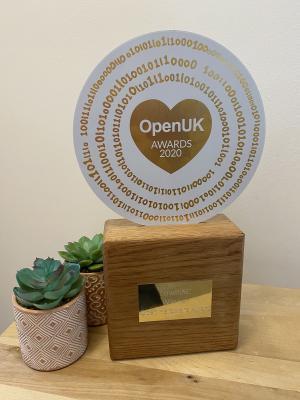 lowRISC's 2020 OpenUK Award