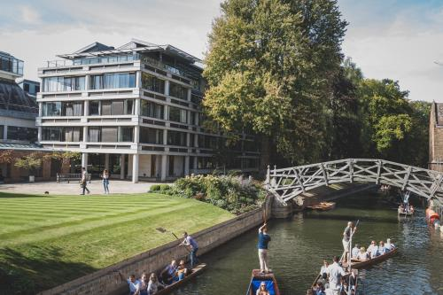 Cambridge scene